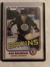 1981-82 OPC Hockey #1 Ray Bourque 2nd Year NM+