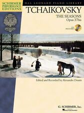 Tchaikovsky The Seasons Op.37bis Learn to Play Piano Sheet Music Book