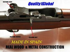 FULL SCALE USA WWII Replica GRAND Movie Prop Rifle Gun REAL METAL & WOOD Ekol