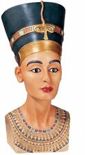 Queen Nefertiti Egyptian Royal Sculpture Ruler of the Nile Bust Sculpture NEW