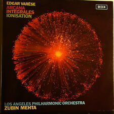 SXL 6550 Edgar Varese Arcana, Integrales, Ionisation / Mehta / LA Phil HP List