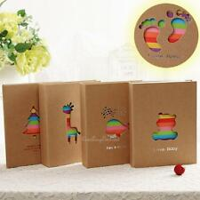 "7"" Kids Children Pets Family 100 Pocket Photo Picture Storage Album Case Cute"