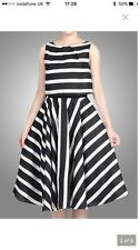 Jolie Moi Overlay Striped Full Circle Dress UK10 BNWT RRP £95 John lewis wedding