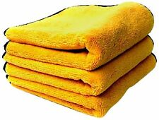 Chemical Guys MIC_506_03 Professional Grade Premium Microfiber Towels Gold (1...