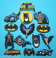 BATMAN Cake Decorations 14 Cupcake Toppers Party Favours Avengers Bat Man NEW