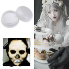 1x Halloween Make-up Zombies,Vampires Goth Punk White Foundation Costume