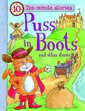 PUSS IN BOOTS & 3 other 10 min Stories Children's Story Book SPIDER AND THE TOAD