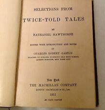 Antique/100 yr old Hawthorne's Twice-Told Tales Book REDUCED 48% to Only $12.95