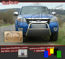 FORD RANGER 2009-2011 BULL BAR NUDGE BAR  A BAR  !!!  STAINLESS STEEL