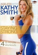 Ageless with Kathy Smith: Staying Strong (2011, DVD NIEUW)