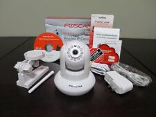 FOSCAM FI9821P HD 1 MP WIRELESS IP CAMERA--BARELY USED, IN BOX!--CHECK IT OUT!