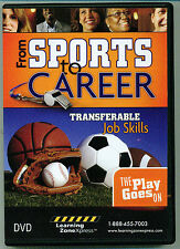 From Sports To Career-Tranferable Job Skills DVD - By Learning ZoneXpress-NEW!