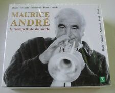 MAURICE ANDRE (BOX 4CD) LE TROMPETTISTE DU SIECLE  NEUF SCELLE