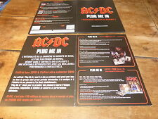 AC/DC - Plan média / Press kit !!! PLUG ME IN !!!