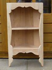 Handmade Corner Shelf Wall Unit in RECYCLED OAK