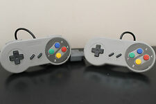 2 x Super Nintendo SNES Controllers New! 3rd Party - Canadian Seller - Free Ship