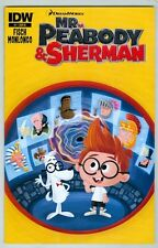 Mr. Peabody and Sherman #1 November 2013 NM Variant Cover