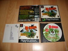 B MOVIE B-MOVIE DE KING OF THE JUNGLE LIMITED PARA LA SONY PS1 USADO COMPLETO