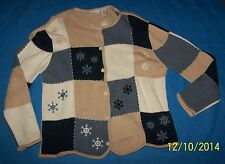 Size L Womens Ugly Christmas Sweater Croft & Barrow