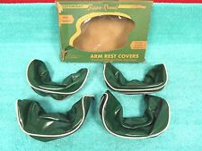 1951 BUICK OLDSMOBILE PONTIAC CHEVY  GREEN  ARMREST COVERS  SET OF ( 4 ) NOS 217