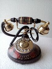ANTIQUE STYLE VINTAGE FRENCH VICTORIAN STYLE ROTARY DIAL TELEPHONE