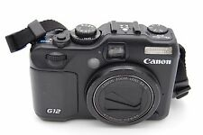 Canon PowerShot G12 10.0MP 2.8''Screen 5x Zoom Digital Camera WITH BATTERY