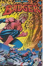 Capital Comics! Badger! Issue 1!
