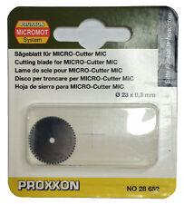 Proxxon Disque de coupe de remplacement pour MICRO Cutter MIC 28652 / RDGTOOLS