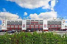 Stoke City FC - Britannia Stadium - Home of the 'Potters'