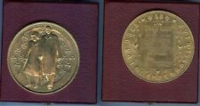 Médaille de table - Albert de Jaeger Charles et Yvonne de Gaulle Irlande 1969