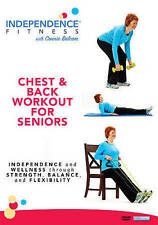 Independence Fitness: Chest  Back Workout for Seniors (DVD, 2016)