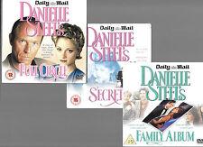 3 newspaper promo dvds danielle steel full circle family album secrets