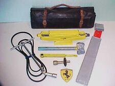 Ferrari Jack Kit_Roll Bag_Lead Hammer_Ratchet_Extension Tool_Battaini 288 365 OE