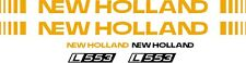 NEW HOLLAND L553 skid steer L 553 Replacement DECAL / sticker kit made in USA