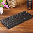 ULTRA SLIM THIN BLACK WIRELESS BLUETOOTH KEYBOARD FOR ALL APPLE IPAD