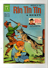 ► RINTINTIN ET RUSTY N°108 - WILLY WEST LE GAUCHER - POSTER - 1969