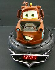 Disney Cars C300ACR Talking Tow Mater Video Radio Digital Alarm Clock Tow Truck