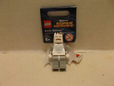 Lego #850815 Arctic Batman Key Chain Exclusive Rare and Hard To Find NIB 2013!