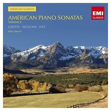 American Piano Sonatas, Vol. 2 Griffes, Sessions, Ives  EMI CD 2008 NEW / SEALED