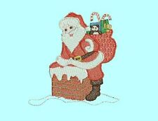 SANTA CHRISTMAS DAY -  20 MACHINE EMBROIDERY DESIGNS