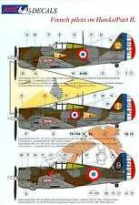 AML Models Decals 1/48 FRENCH PILOTS ON THE CURTISS HAWK 75A Fighter Part 2