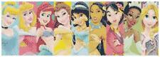Disney Princesses 14 Count Cross Stitch Kit