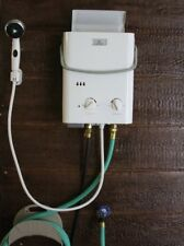 Tankless Water Heater Hot Shower Instant Outdoor Portable Camping RV Propane Gas
