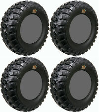 Four 4 GBC Kanati Mongrel ATV Tires Set 2 Front 27x9-12 & 2 Rear 27x11-12