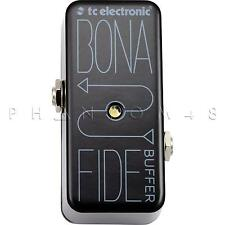 TC Electronic BonaFide Buffer Bona-Fide Clean Tone Boost Guitar Effects Pedal