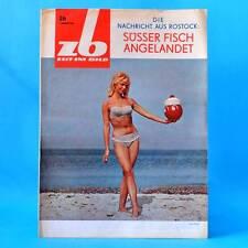 DDR Zeit im Bild ZB NBI 26/1965 Magdeburg Dresden Montmedy Günter Prodöhl C