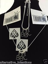 "Sexy""BBC"" Anklet, Necklace and Temp Tattoos GIFT SET Hotwife Cuckold Black owned"
