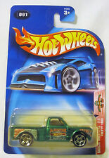 Hot Wheels Chevy 1969 Pickup Radical Wrestlers 091 2003 Diecast Truck