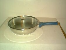 "BRAND NEW AIR CORE WALKAWAY STAINLESS STEEL 10"" SKILLET WITH GLASS LID"