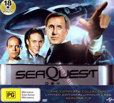 SeaQuest DSV - Complete Collection NEW PAL Series - 18-DVD Set & Aluminum Case